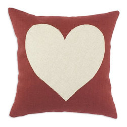 Chooty & Co. - Circa Linen Lava 17 x 17 in. with Linen Heart Pillow Multicolor - CS17K1028H554 - Shop for Pillows from Hayneedle.com! Feel the love as you sink into the plush comfort of the Circa Linen Lava 17 x 17 in. with Linen Heart Pillow. This cute pillow is made of a soft linen/rayon/poly blend with a center heart design that shows you adore comfort. It features a 100% poly insert and zip closure. Hand wash or spot clean for best results.About Chooty & Co.A lifelong dream of running a textile manufacturing business came to life in 2009 for Connie Garrett of Chooty & Co. This achievement was kicked off in September of '09 with the purchase of Blanket Barons well known for their imported soft as mink baby blankets and equally alluring adult coverlets. Chooty's busy manufacturing facility located in Council Bluffs Iowa utilizes a talented team to offer the blankets in many new fashion-forward patterns and solids. They've also added hundreds of Made in the USA textile products including accent pillows table linens shower curtains duvet sets window curtains and pet beds. Chooty & Co. operates on one simple principle: What is best for our customer is also best for our company.