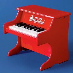 Wolfgang Amadeus Jr. Red Piano - I've always wanted a mini piano; everything in miniature is just that much more adorable, no?