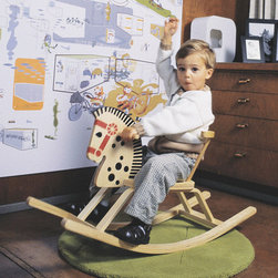 Offi Classic Baltic Rocking Horse - This wooden rocking horse has stood the test of time - it's been in production for over fifty years. It's the one that will passed to your child's children, and their children after that.