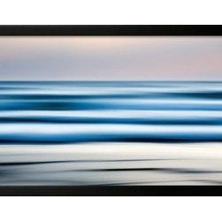 Artcom - Tor Beach, Summer by Jeff Friesen Artwork - Tor Beach, Summer by Jeff Friesen is a Framed Art Print set with a SOHO Black wood frame.