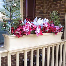 Traditional Outdoor Planters by Flower Window Boxes, Inc.