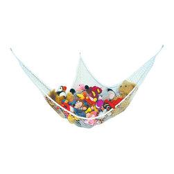 Prince Lionheart Jumbo Toy Hammock - Get the toys off the floor with this jumbo hammock.