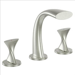 Ultra Faucets - Ultra Faucets UF55513 Handle Lavatory Faucet - TWO-HANDLE DESIGN FOR PRECISE TEMPERATURE ADJUSTMENT