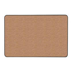 Ghent - Natural Cork Tackboard in Red (24 in. W x 18 in. H) - Size: 24 in. W x 18 in. H. 0.38 in. fiberboard backing provides for strength and stability. TAA compliant. Frame with radius corners creates stylish and sleek appearance. Masks pin holes withstand repeated tacking. Surface is self-healing. 0.50 in. thickness. Vinyl black frame. Warranty: 10 years. Made in USA. No assembly requiredAdd an elegant touch to your area with Ghent's Gemini Tackboard. Board can be hung either portrait or landscape.