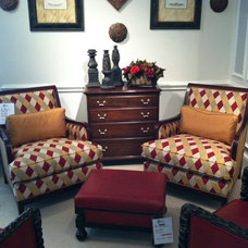 Traditional Living Room Chairs by Designer's Choice Interiors