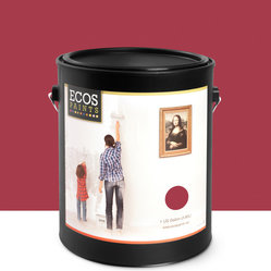 Imperial Paints - Interior Semi-Gloss Trim & Furniture Paint, Cranberry - Overview: