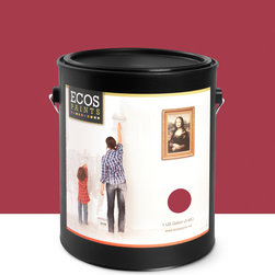 Imperial Paints - Interior Semigloss Trim and Furniture Paint, Cranberry - Overview: