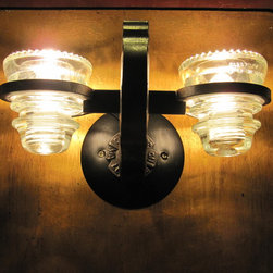 Insulator light Wall Sconce - nsulatorlight Wall Sconce by Railroadware