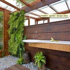Tropical  outside bathroom