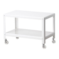 Ikea PS 2012 Coffee Table, White - The PS Collection from Ikea has great designs for affordable prices. I'd use this table to store magazines, but it would also work great as a coffee table.