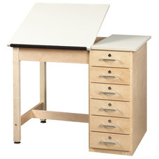 Contemporary Drafting Tables by School Outfitters