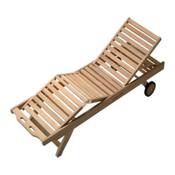 Royal Teak Sun Bed Lounge Chair