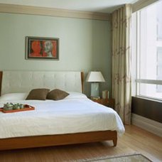Eclectic Bedroom by BWArchitects (formerly Basil Walter Architects)