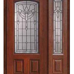 """Prehung Side light Door 80 Fiberglass Palacio 2 Panel Arch Lite Glass - SKU#MCT06195_DFAP1-1BrandGlassCraftDoor TypeExteriorManufacturer CollectionArch Lite Entry DoorsDoor ModelPalacioDoor MaterialFiberglassWoodgrainVeneerPrice3545Door Size Options32"""" + 14""""[3'-10""""]  $032"""" + 12""""[3'-8""""]  $036"""" + 14""""[4'-2""""]  $036"""" + 12""""[4'-0""""]  $0Core TypeDoor StyleDoor Lite StyleArch LiteDoor Panel Style2 PanelHome Style MatchingDoor ConstructionPrehanging OptionsPrehungPrehung ConfigurationDoor with One SideliteDoor Thickness (Inches)1.75Glass Thickness (Inches)Glass TypeDouble GlazedGlass CamingBlackGlass FeaturesTempered glassGlass StyleGlass TextureGlass ObscurityDoor FeaturesDoor ApprovalsEnergy Star , TCEQ , Wind-load Rated , AMD , NFRC-IG , IRC , NFRC-Safety GlassDoor FinishesDoor AccessoriesWeight (lbs)418Crating Size25"""" (w)x 108"""" (l)x 52"""" (h)Lead TimeSlab Doors: 7 Business DaysPrehung:14 Business DaysPrefinished, PreHung:21 Business DaysWarrantyFive (5) years limited warranty for the Fiberglass FinishThree (3) years limited warranty for MasterGrain Door Panel"""