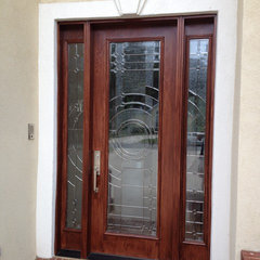 contemporary front doors by Heckard's Door Specialties, Inc