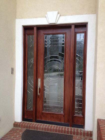 Contemporary Front Doors by Heckard's Door