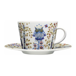 Iittala - Taika Coffee & Tea, White - Once upon a time there was a pattern so charming it brought back all the cherished fairy tales of your childhood. The happily ever after part? It's right here, on this porcelain teacup.