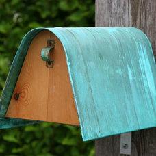 Mediterranean Mailboxes by Coppercraft Design