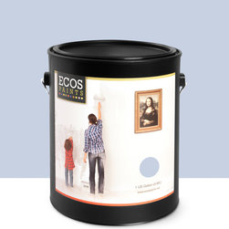 Imperial Paints - Eggshell Wall Paint, Gallon Can, Palace Blue - Overview: