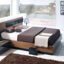 Made in Spain Wood Modern Furniture Design Set with Extra Storage - Jana contemporary bedroom set made in Spain. This Bedroom Set is manufactured in contemporary style.