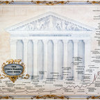 Murals Your Way - The Stock Market (One Treasure Limited) Wall Art - Painted by One Treasure Limited, the The Stock Market (One Treasure Limited) wall mural from Murals Your Way will add a distinctive touch to any