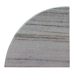 "White River Granite Shower Caddy - White River Granite. Both Side Polished. Bathroom Corner Shelf. 9""x9"" shower caddy"