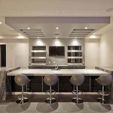 Modern Bar Tables by Dayoris Custom Woodwork
