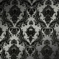 Tempaper - Metallic Silver DA019 Damsel Self-Adhesive Wallpaper - Metallic Silver DA019 Damsel Self-Adhesive Wallpaper is self-adhesive and has 12 inches of pattern repeat. This self-adhesive wallpaper is revolutionary in the home decor industry. It can be easily removed, repositioned or readjusted to match your style. It is the perfect wallpaper for renters, or people who just like to change their home decor often! Liven up any room as frequently as you like with self-adhesive removable wallpaper. Collection name: Tempaper Size of each double roll is 20.5 inches x 33 feet. Each double roll covers about 56.37 square feet / 5.24 square meters. Wallpapers are priced per single roll, but packaged and sold in double rolls only. Please order the number of single rolls that you will need, but you must order in multiples of two (even numbers) only.