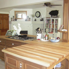 Kitchen Countertops by Elmwood Reclaimed Timber Inc.