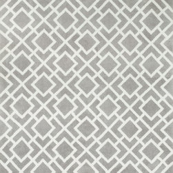 """Loloi Rugs - Loloi Rugs Charlotte Collection - Ash, 3'-6"""" x 5'-6"""" - The Charlotte Collection's striking patterns may draw you into a room, but it is the incredibly soft surface that will keep you there. Whether you are kicking your shoes off after a long day of work or just enjoying a lazy Sunday, your feet will appreciate the comfy microfiber feel. With a surface this soft, Charlotte is the ideal choice as a bedside accent, family room centerpiece, and even a bathroom rug in a scatter size. What's more, Charlotte's 100% polyester fibers are highly stain and moisture resistant, so its colors remain vibrant over time."""