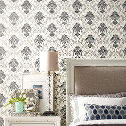 Wallcoverings, trims and bedding. - Fabricut wallcovering and bedding
