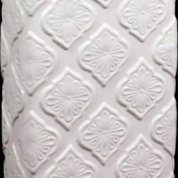 Urban Trends Ceramic Vase White - 8.86W x 4.53D x 12.99H in. - About Urban Trends Collection:Urban Trends Collection is a leading home décor and decorative home accessories company. They specialize in the latest home furnishings, decorative home accessories, accent pieces, and garden accessories. Urban Trends is a global company that provides quality, reasonably priced home decor to their customers. They deal extensively in decorative home accessories items crafted in Spain, China, India, Turkey, and the Philippines. Urban Trends works with the best artisans and craftspeople as well as only quality manufacturers and reputable factories.