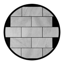 Carrara Marble Italian White Bianco Carrera Marble Subway Tile Honed - This Amazon vendor offers very affordable Carrera marble tiles, as well as all the trim pieces. I have never purchased from this distributor, but they have tons of good reviews, which is a great benefit to shopping on Amazon.