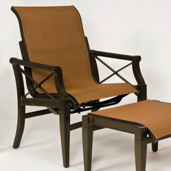 Woodard Andover Sling Rocking Lounge Chair - Nothing is quite as ...