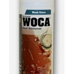 Woca Denmark - Woca Spot Remover 9oz Spray Can - removes particularly difficult spots from the wood surface Spot Remover effectively dissolves grease, blood, coffee, tea etc. May be used on unfi nished, soaped, oiled or waxed interior surfaces. Spot Remover is based on soap and specially developed for indoor use to remove spots from oiled wood surfaces.