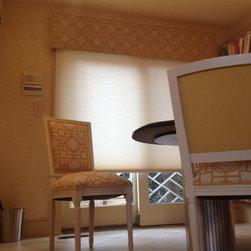 Kitchen Chairs & Cornice Board - Matt Reichhoff