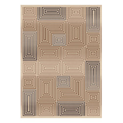 Dynamic Rugs - Dynamic Rugs Treasure 2.2X7.7 2721-100 Cream - The Treasure Collection is a unique blend of modern design and tonal neutrals. Made in turkey, these rugs are durable enough for high traffic areas while adding plentiful style to any room. The Treasure Collection highlights beautiful tonal colors in an interesting pattern that brings texture and warmth to the home.