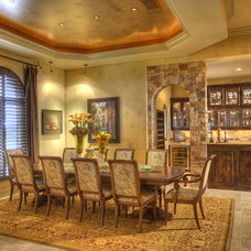 Traditional Dining Room by Sterling Custom Homes