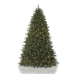 Balsam Hill Fifth Avenue Flatback Artificial Christmas Tree - SMALL SPACES SHINE WITH BALSAM HILL'S FIFTH AVENUE FLATBACK TREE |