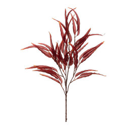Silk Plants Direct - Silk Plants Direct Eucalyptus (Pack of 12) - Burgundy - Silk Plants Direct specializes in manufacturing, design and supply of the most life-like, premium quality artificial plants, trees, flowers, arrangements, topiaries and containers for home, office and commercial use. Our Eucalyptus includes the following: