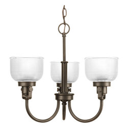 Progress Lighting - Progress Lighting P4688-74 Archie Three Light Single-Tier Up Lighting Chandelier - Features: