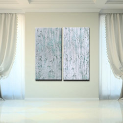 Ready2hangart - Alexis Bueno 'Abstract' Over-sized Canvas Wall Art (Set of 2) - Artist: Alexis Bueno Title: Abstract Product type: Gallery Wrapped Canvas Art