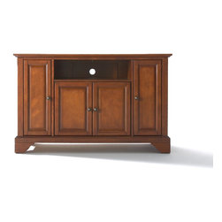 "Crosley - LaFayette 48"" TV Stand - Dimensions:  18 x 47.8 x 28 inches"