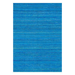 """Loloi Rugs - Loloi Rugs Resama Collection - Sapphire, 5' x 7'-6"""" - Loloi's one-of-a-kind Resama Collection features flat-woven dhurrie designs that are integrated with vintage silk saris within the weave. Each unique piece features an array of vibrant colors, sure to brighten up any room."""