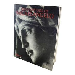 "Consigned Vintage Book: Sculpture of Michelangelo - Just reduced! A poet, an architect, a painter, an engineer, and a sculptor: yes, I'm talking about Michelangelo.  This elegant coffee table book, ""Sculpture of Michaelangelo"", emphasizes his expertise as a sculptor and explores the art and history of his surviving statues."
