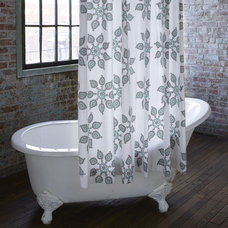 Rustic Shower Curtains by John Robshaw Textiles