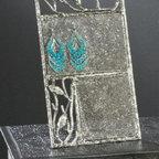 Table Top Mesh Earring Display Stand, Jewelry Organizer - This Natural Splendor Jewelry Display is a must-have.