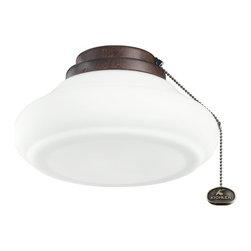 "Kichler Lighting - Kichler Lighting 10"" Schoolhouse Ceiling Fan Light Kit X-ZT611083 - Kichler Lighting 10"" Schoolhouse Ceiling Fan Light Kit X-ZT611083"