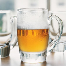 Contemporary Beer Glasses by Pottery Barn