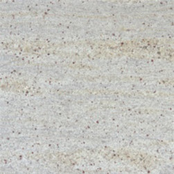 "Kashmir White Polished Granite Floor & Wall Tiles 12"" x 12"" - 12"" x 12"" Kashmir White Polished Granite Floor and Wall Tile is a great way to enhance your decor with a traditional aesthetic touch. This polished tile is constructed from durable, impervious granite material, comes in a smooth, unglazed finish and is suitable for installation on floors, walls and countertops in commercial and residential spaces such as bathrooms and kitchens."